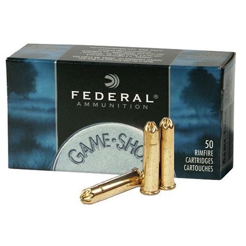 Federal Ammunition 22 LR  No. 12 Lead Bird Shot
