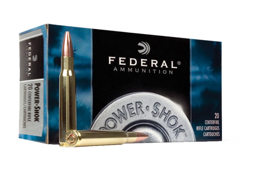 Federal Power Shok Ammunition 222 Remington  3,24g / 50gr SP