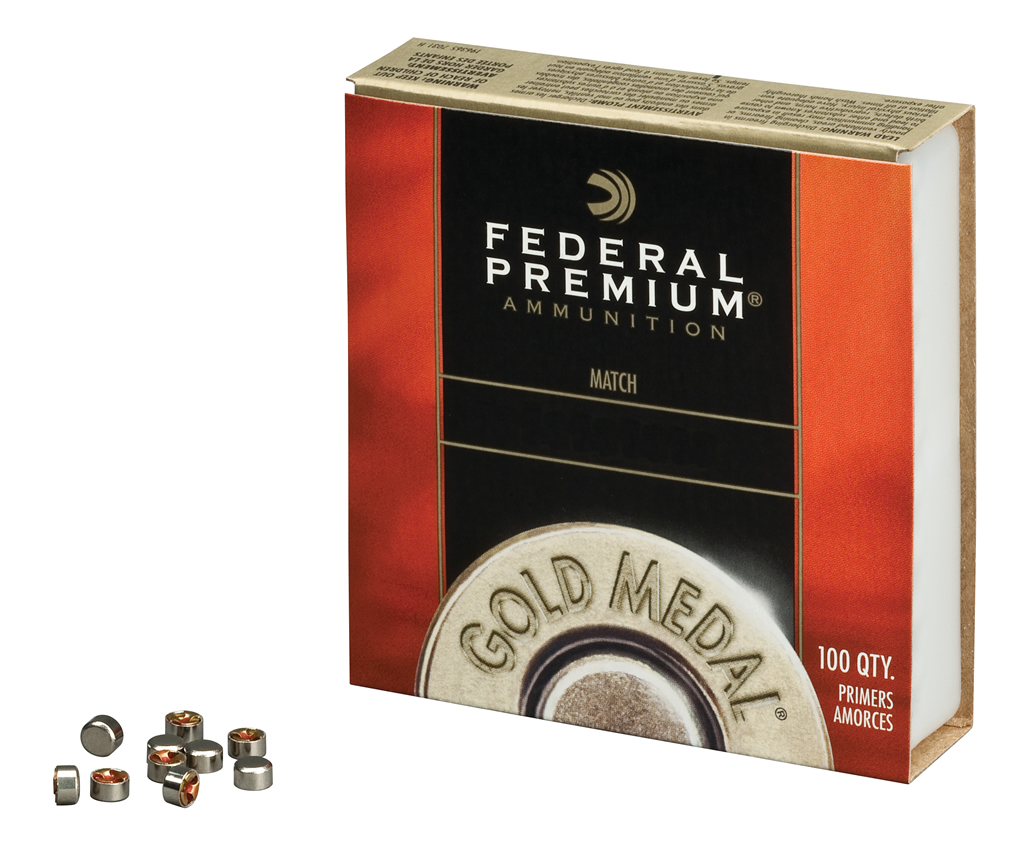 Federal GM100M Small Pistol Match Primers