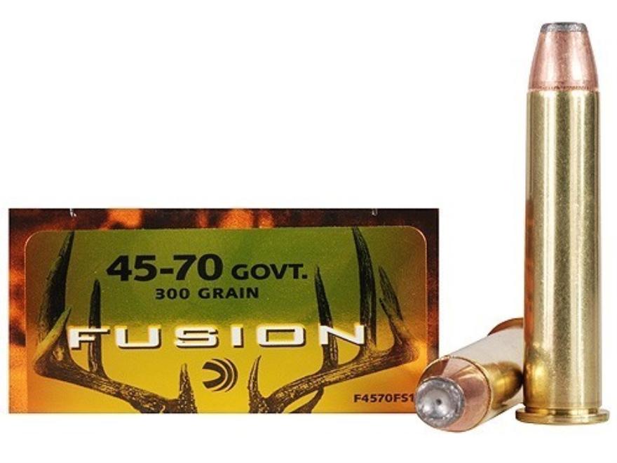 Federal Fusion Ammunition 45-70 Govt. 19,44g / 300gr SP
