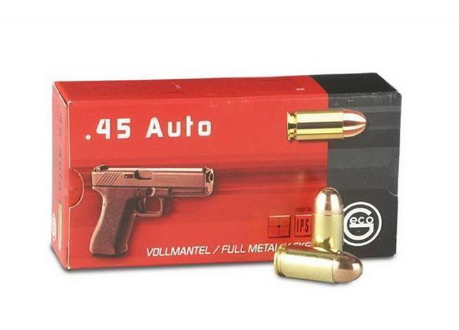 Geco Ammunition 45 Auto 14,9g / 230gr FMJ