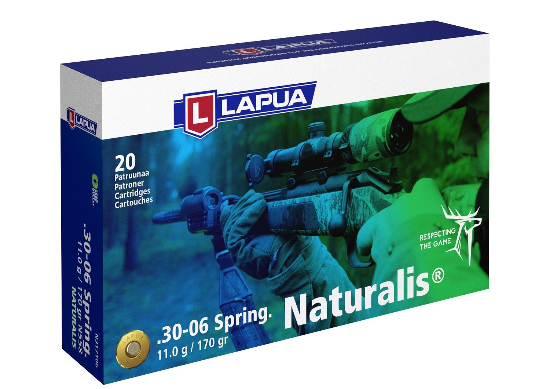 Naboj Lapua 30-06 Springfield N558 11,0g / 170gr Naturalis