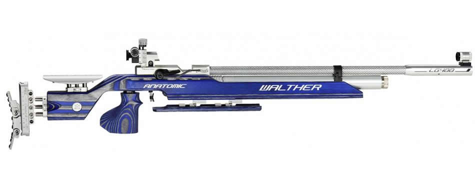 Air Rifle Walther Model LG400 Expert Anatomic 4,5mm
