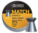 Diaboli JSB Match 500 4,5mm Middle Weight